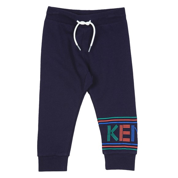Kenzo Kids Boys Blue Sport Line Logo Jogger main image