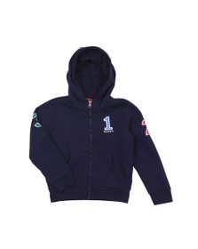 Hackett Boys Blue Boys Number Full Zip Hoody