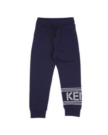 Kenzo Kids Boys Blue Sport Logo Jogger