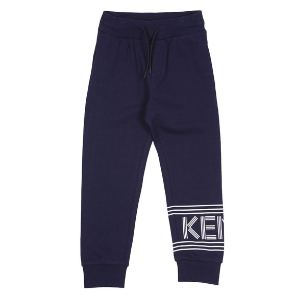Kenzo Kids Boys Blue Sport Logo Jogger main image