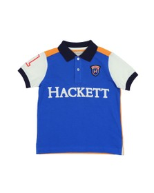 Hackett Boys Blue Boys Arch Multi Polo Shirt