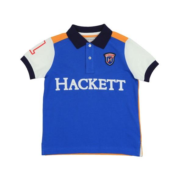 Hackett Boys Blue Boys Arch Multi Polo Shirt main image