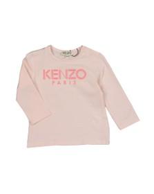 Kenzo Baby Girls Pink Sport Logo T Shirt