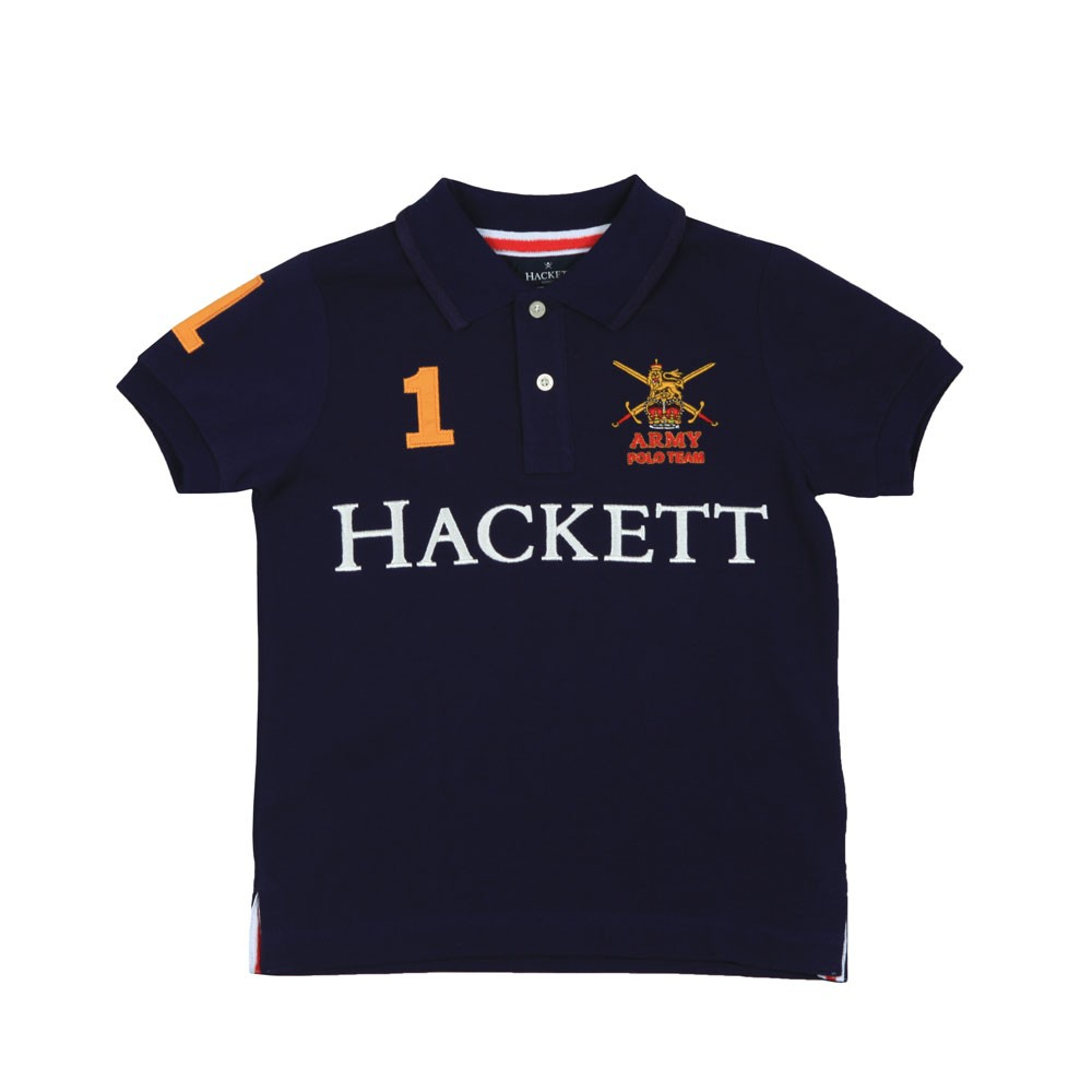 Boys Army Polo Shirt