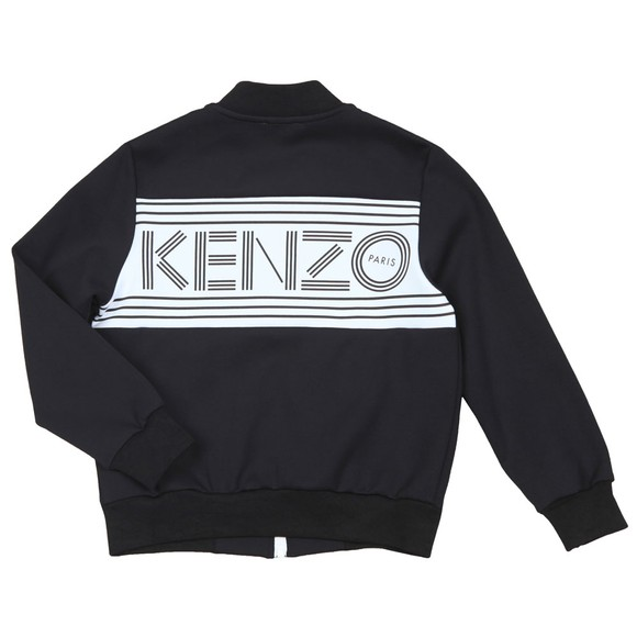 Kenzo Kids Boys Black Large Back Logo Track Top