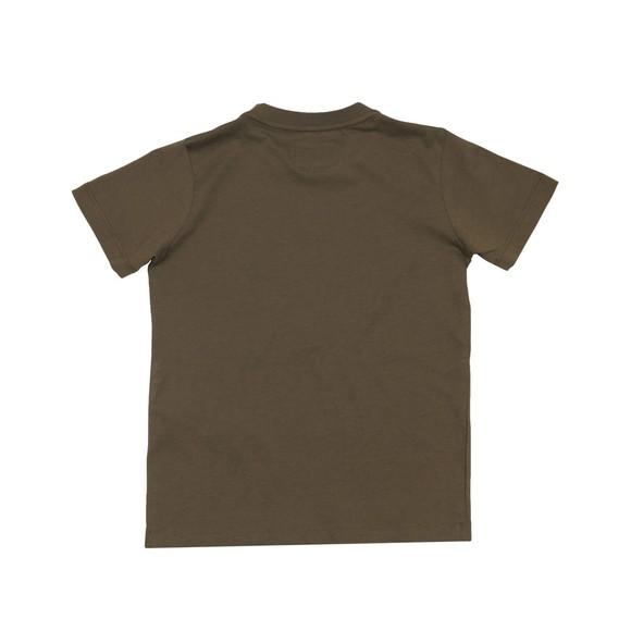 Emporio Armani Boys Green Circle Logo T-Shirt