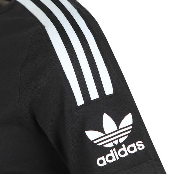 adidas Originals Mens Black Tech T-Shirt main image
