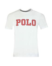 Polo Ralph Lauren Mens White Large Polo Logo T Shirt