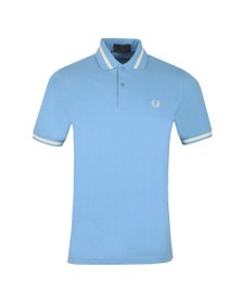 Fred Perry (Reissues) Mens Blue Single Tipped Polo