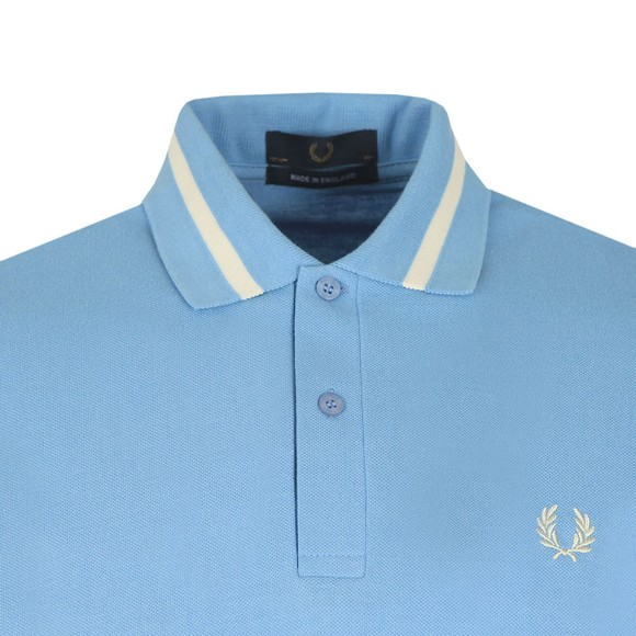 Fred Perry (Reissues) Mens Blue Single Tipped Polo main image