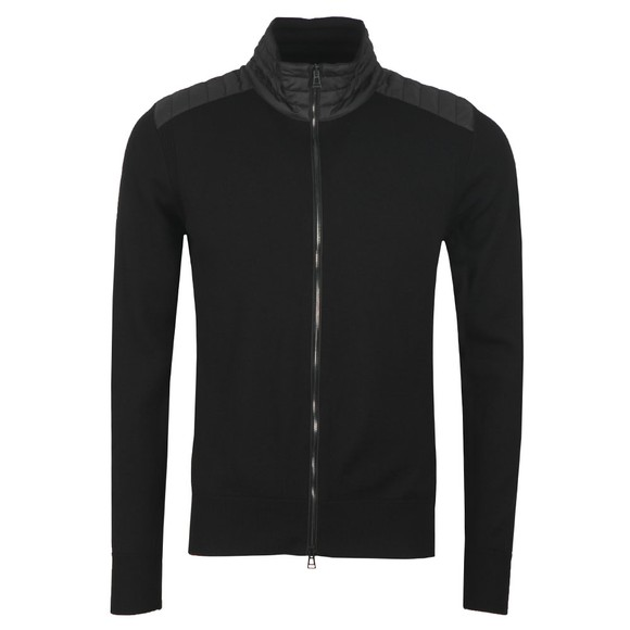 Belstaff Mens Black Kelby Zip Cardigan