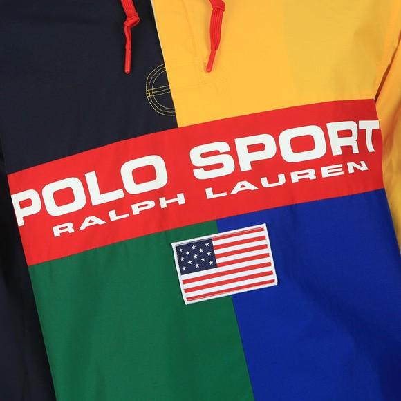 Polo Sport Ralph Lauren Mens Multicoloured Rugby Half Zip Jacket