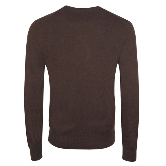 Gant Mens Brown Crew Neck Jumper main image