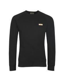 Nudie Jeans Mens Black Samuel Logo Sweatshirt