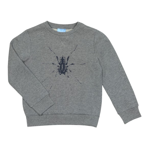 Lanvin Boys Grey Spider Sweatshirt