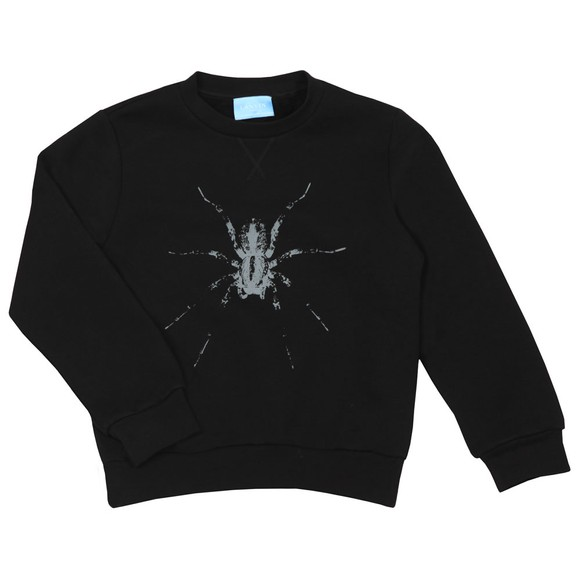 Lanvin Boys Black Spider Sweatshirt