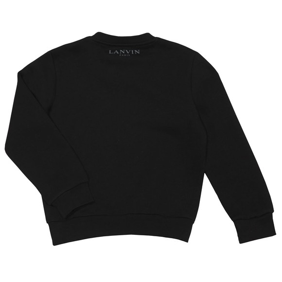 Lanvin Boys Black Spider Sweatshirt main image