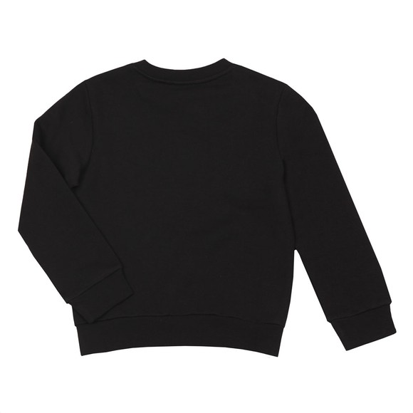 Lanvin Boys Black Logo Sweatshirt