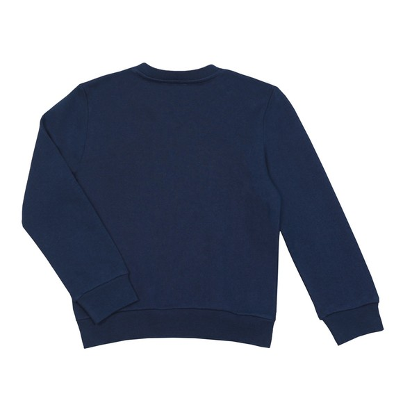 Lanvin Boys Blue Logo Sweatshirt