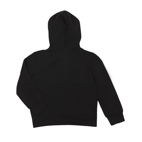 Lanvin Boys Black Full Zip Hoody