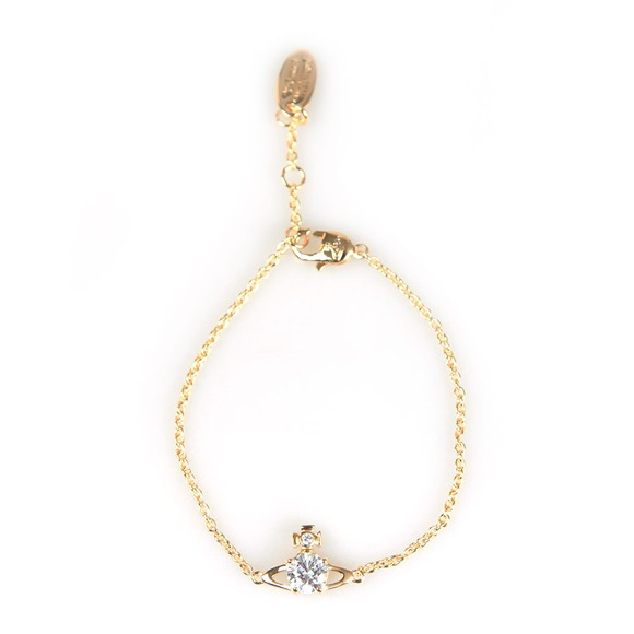 Vivienne Westwood Womens Gold Reina Small Bracelet