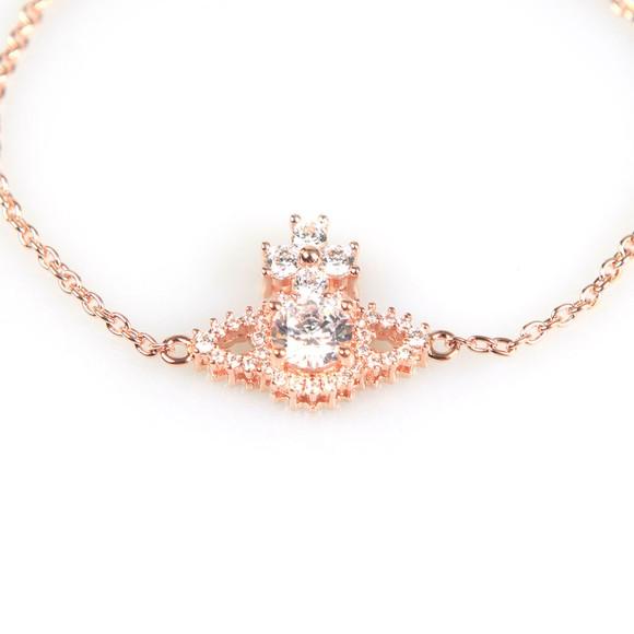 Vivienne Westwood Womens Pink Valentina Orb Bracelet