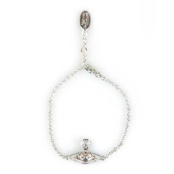 Vivienne Westwood Womens Silver Pina Bas Relief Bracelet