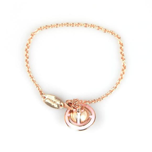 Vivienne Westwood Womens Pink Iris Orb Bracelet main image