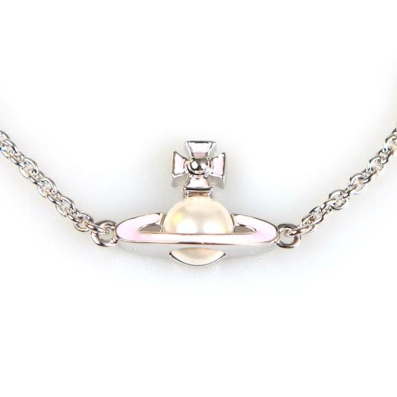 Vivienne Westwood Womens Silver Iris Bas Relief Bracelet