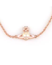 Vivienne Westwood Womens Pink Iris Bas Relief Bracelet