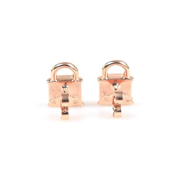 Vivienne Westwood Womens Pink Luna Stud Earring
