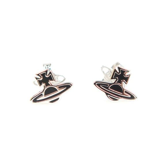 Vivienne Westwood Womens Silver Romina Orb Earring
