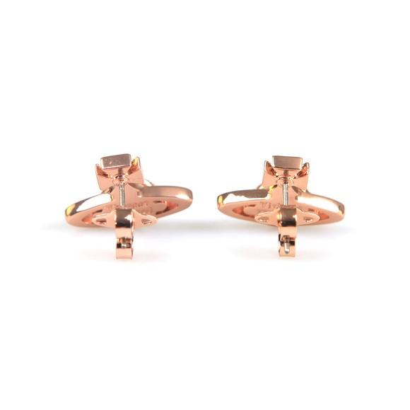 Vivienne Westwood Womens Pink Sorada Bas Relief Orb Earrings main image