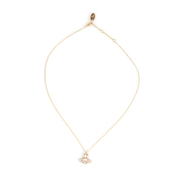 Vivienne Westwood Womens Gold Romina Pave Orb Pendant main image