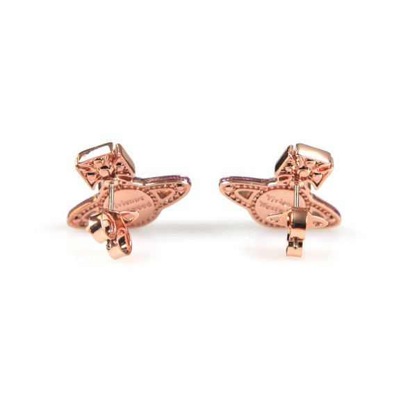Vivienne Westwood Womens Pink Aretha  Bas Relief Earrings main image
