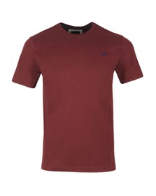 Crew Clothing Company Mens Purple Crew Neck T-Shirt
