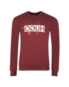 HUGO Mens Red Dicago201 Sweatshirt