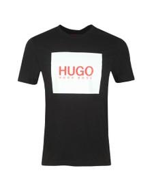 HUGO Mens Black Dolive201 T Shirt