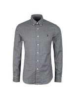Slim Fit Soft Cotton Check Shirt
