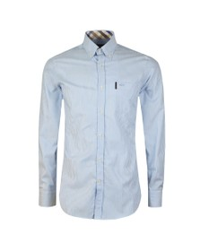 Paul & Shark Mens Blue Stripe Long Sleeve Oxford Shirt