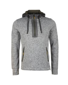 Superdry Mens Grey Storm Half Zip Overhead