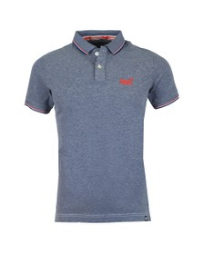 Superdry Mens Blue Poolside Polo