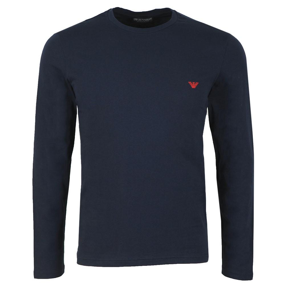 Small Logo Stretch Long Sleeve T Shirt main image