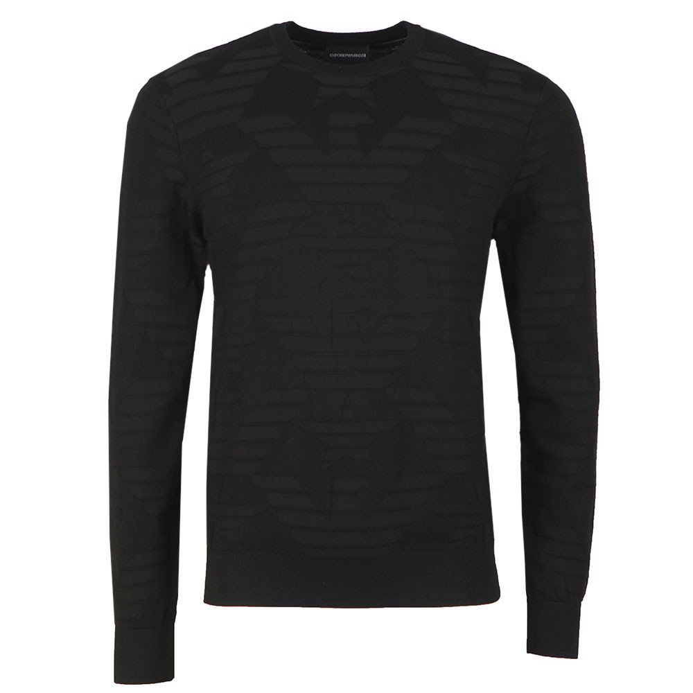 Textured Crew Neck Jumper main image