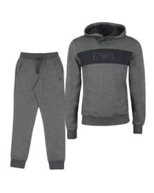 Emporio Armani Mens Grey Pyjama Set