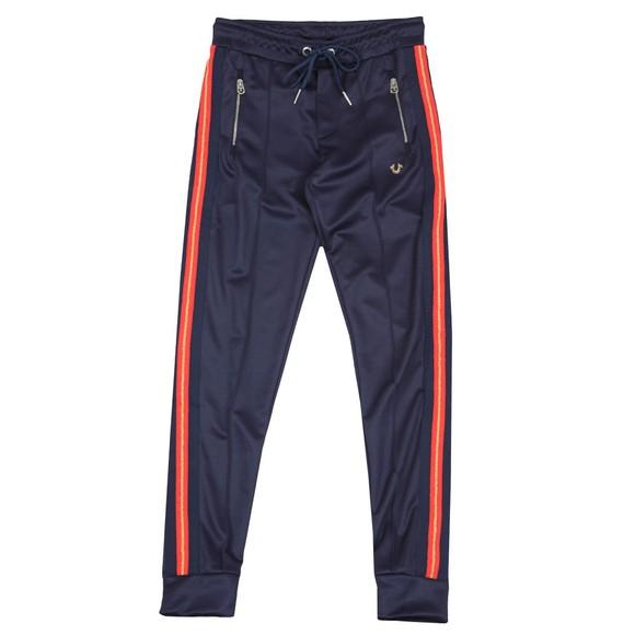 True Religion Mens Blue Pant With Stripe