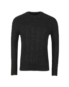 Superdry Mens Black Jacob Crew Jumper