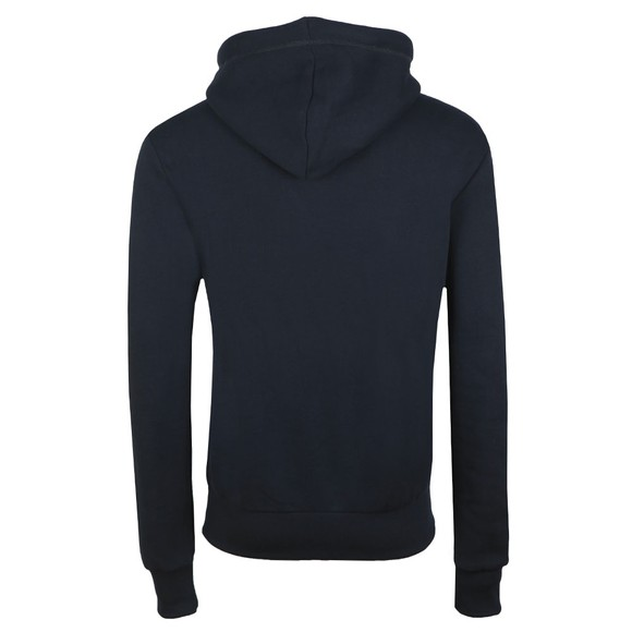 Superdry Mens Blue Retro Sport Hoodie main image