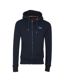 Superdry Mens Blue Winter Cali Zip Hoodie