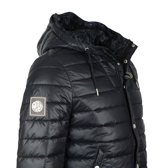 Pretty Green Mens Black Quilted Jacket main image